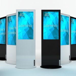 Digital Signage und Digital Kiosk Standsysteme