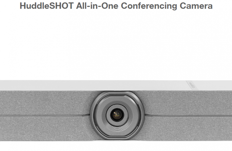 HuddleSHOT (Grau) All-in-One Conferencing Camera