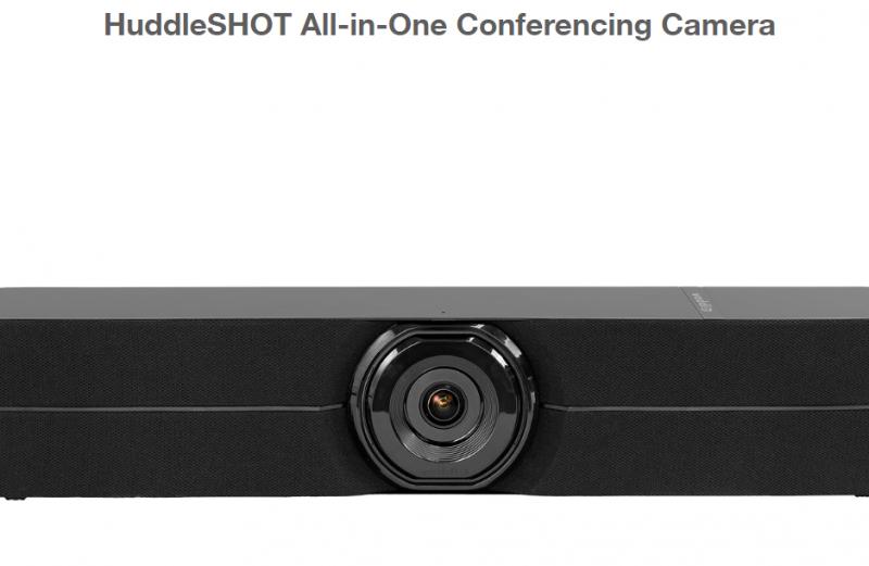 HuddleSHOT (Schwarz)All-in-One Conferencing Camera