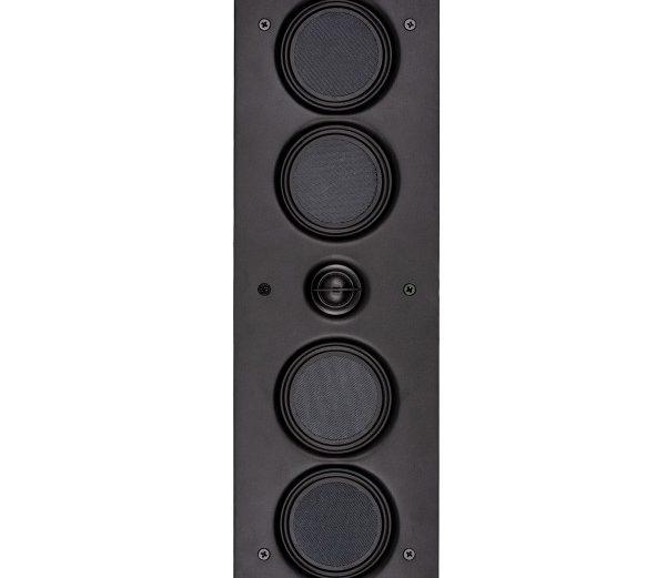 Wandeinbau-Lautsprecher, 118 x 418mm, 36mm tief