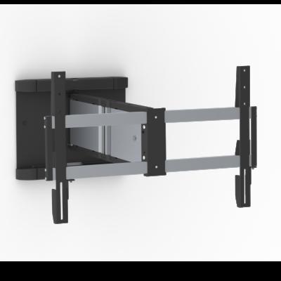 Schwenkbare Wandhalterung -40kg/600×400 Alu/Black