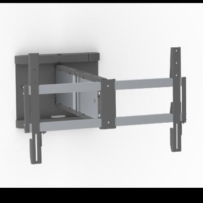 Schwenkbare Wandhalterung -40kg/600×400 Alu/Anthra