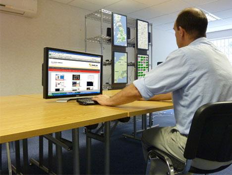 Zentrale Administration der Medieninhalte bei einer Client Server Infrastruktur für Digital Signage Lösungen