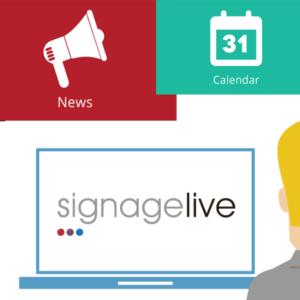 SIGNAMEDIA NETSTORE Produkt-Kategorie Signagelive