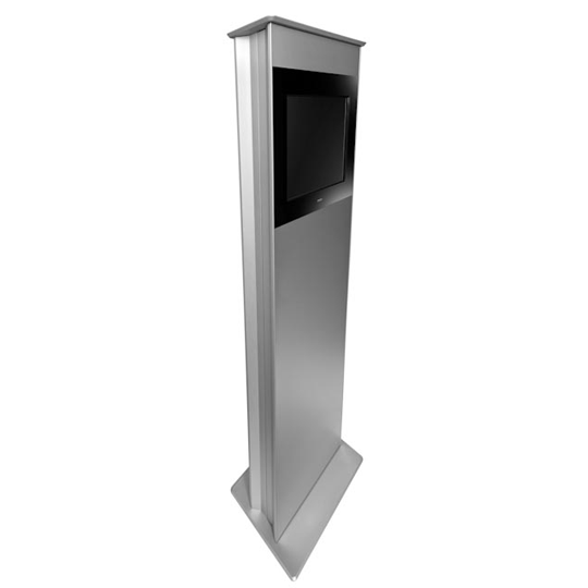 SIGNAMEDIA Digital Kiosk Stele, Quelle: DigiKiosk ApS, 7190 Billund, Dänemark