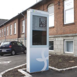 Digital Kiosk Outdoor Systeme