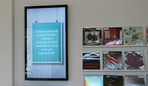 SIGNAMEDIA Digitale Signage Vorteile durch interaktive Beschilderung im Geschäft