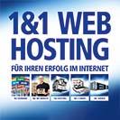 1&1 Teaser Hosting, Quelle: 1&1 Telecom GmbH, 56410 Montabaur, Deutschland