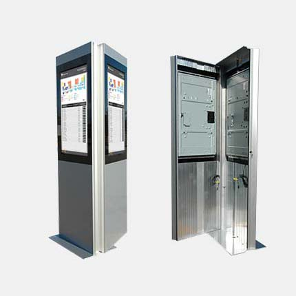 SIGNAMEDIA Digital Kiosk Stele - Dual Screen
