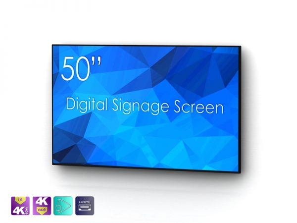 SIGNAMEDIA Digital Signage Monitor 50 Zoll natives-4k, Quelle: SWEDX AB, 16353 Spånga, Schweden