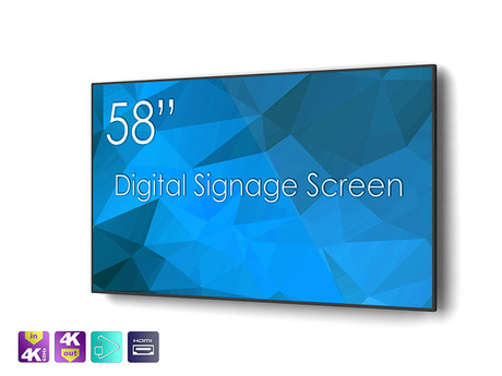 SIGNAMEDIA Digital Signage Monitor 58 Zoll natives-4k, Quelle: SWEDX AB, 16353 Spånga, Schweden
