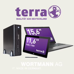 TERRA / WORTMANN AG - IT-Produkte aus deutscher Produktion