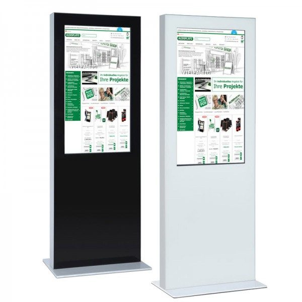 SIGNAMEDIA Digital Signage Stele Dual-Screen