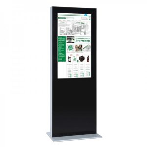 SIGNAMEDIA Digital Signage Stele - Dual-Screen