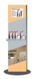 SIGNAMEDIA Digitaler interaktiver Prospektständer - Kleine Produktablage