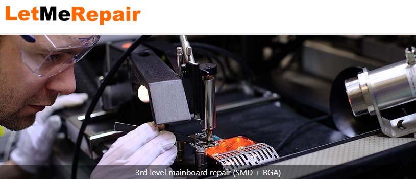 Dienstleistungen für Installation, Wartung, Reparatur und Entsorgung durch LetMeRepair