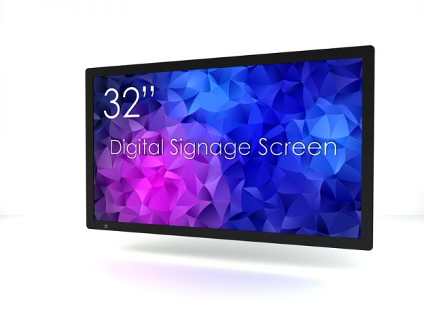 SIGNAMEDIA Digital Signage Monitor 32 zoll natives 4k, Quelle: SWEDX AB, 16353 Spånga, Schweden