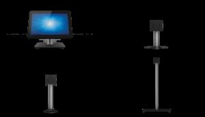 SIGNAMEDIA Touchscreen-Computer Standfüße