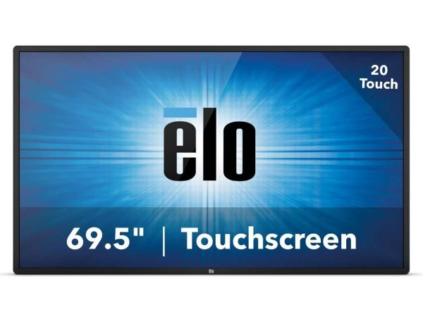 SIGNAMEDIA Touchscreen-Monitor 70 Zoll, Quelle: Elo Touch Solutions, Inc., Milpitas, California 95035, USA