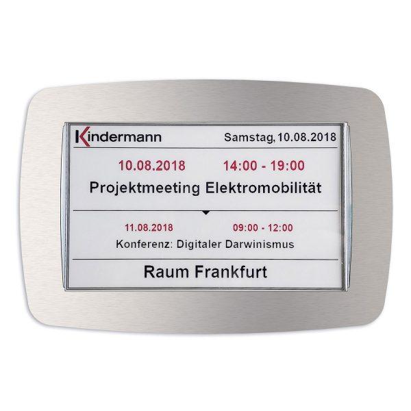 SIGNAMEDIA Digitales Tuerschild 7-Zoll SWR, Quelle: Kindermann GmbH, 97246 Eibelstadt, Deutschland