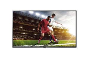 SIGNAMEDIA Digital Signage TV - Frontansicht eines Hotel-TVs / Gastro-TVs