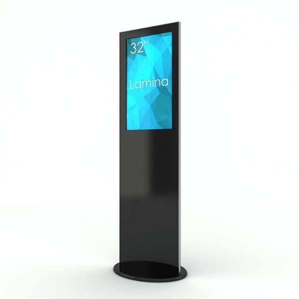 SIGNAMEDIA Digitale Infostele zur Patienten-, Besucher- und Kundeninformation, Quelle: SWEDX AB, 16353 Spånga, Schweden