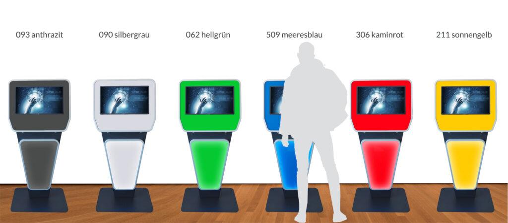 SIGNAMEDIA Self-Service-Terminal Varianten